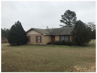 Prattville Single Family Home For Sale: 1326 County Road 43 Road