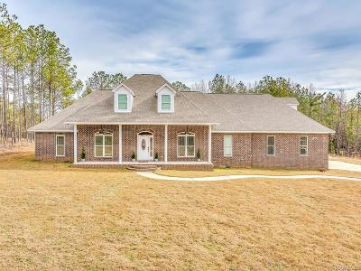 Prattville Single Family Home For Sale: 1472 Upper Kingston Road