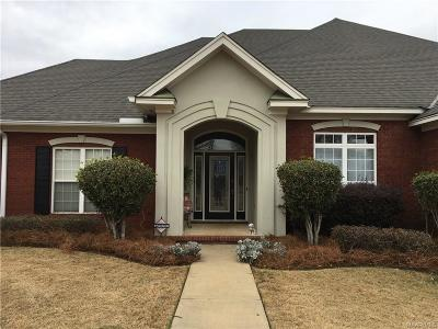 Wetumpka Single Family Home For Sale: 871 Winding Wood Drive
