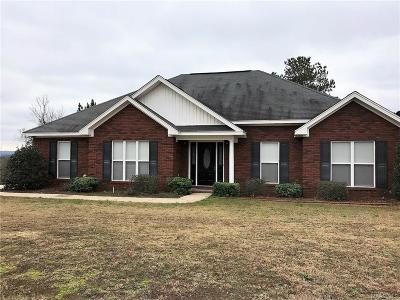 Wetumpka Single Family Home For Sale: 1060 Jug Factory Road