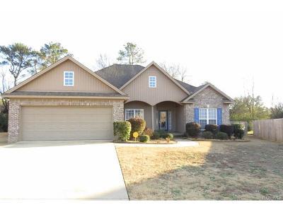 Prattville Single Family Home For Sale: 1303 Carson Drive