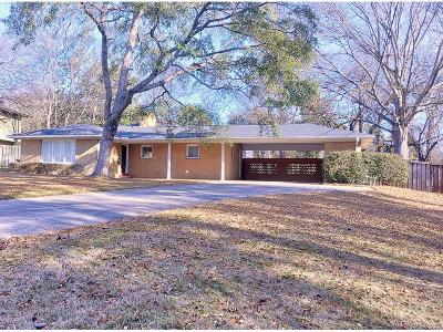 McGehee Estates Single Family Home For Sale: 3011 Boxwood Drive