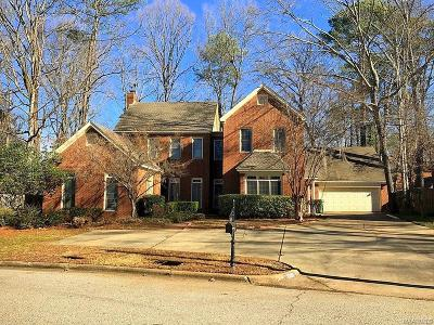 Montgomery Single Family Home For Sale: 1307 Saxon Court