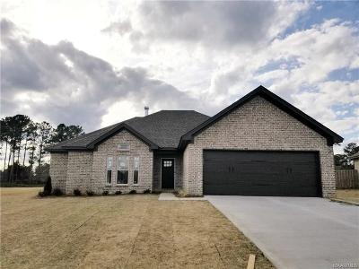Wetumpka Single Family Home For Sale: 65 Tallahatchie Drive