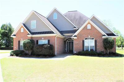 Wetumpka Single Family Home For Sale: 124 Fox Glenn Lair