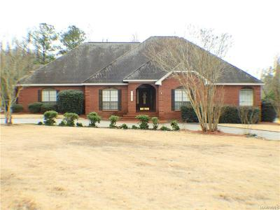 Prattville Single Family Home For Sale: 1011 Choctaw Ridge