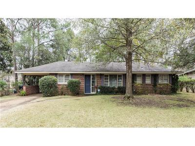 Montgomery Single Family Home For Sale: 2718 Greenbriar Road