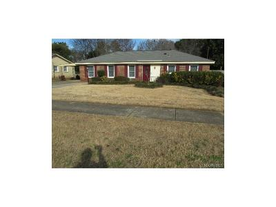 Montgomery Single Family Home For Sale: 5743 Wares Ferry Road