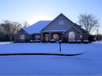 Prattville Single Family Home For Sale: 2615 Savannah Drive