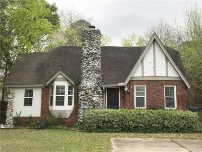 Montgomery Single Family Home For Sale: 1466 Watson Avenue