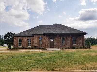 Wetumpka Single Family Home For Sale: 106 Watkins Glen Drive