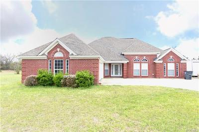 Prattville Single Family Home For Sale: 2167 County Road 57 Road