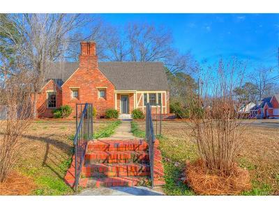 Montgomery AL Single Family Home For Sale: $59,900