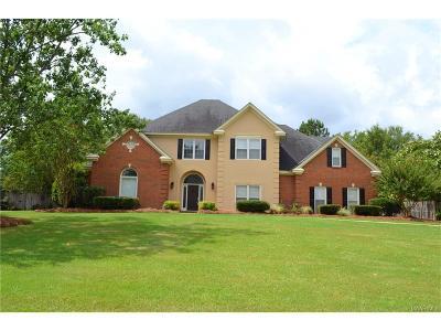 Montgomery Single Family Home For Sale: 7844 Lakeridge Drive
