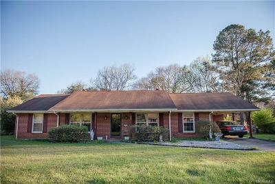 Millbrook Single Family Home For Sale: 3640 Rober E Lee Drive