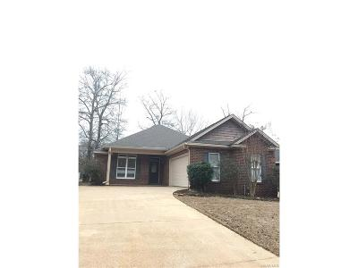 Wetumpka Single Family Home For Sale: 89 River Birch Circle