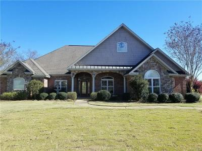 Prattville Single Family Home For Sale: 2615 Savannah Drive