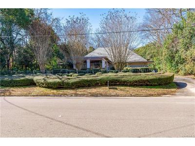Montgomery Single Family Home For Sale: 2060 S Hull Street