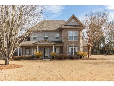 Millbrook Single Family Home For Sale: 215 Magnolia Loop