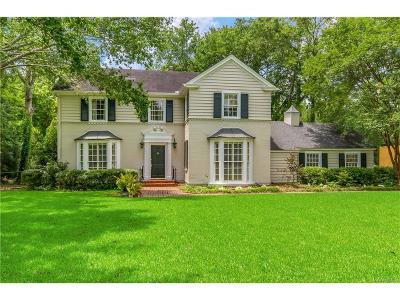 Montgomery Single Family Home For Sale: 2144 Allendale Road