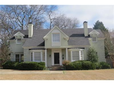 Montgomery Single Family Home For Sale: 2219 College Street