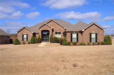 Prattville Single Family Home For Sale: 1539 Trolley Road