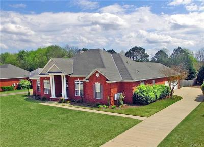 Wetumpka Single Family Home For Sale: 706 Winding Wood Drive