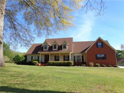 Prattville Single Family Home For Sale: 1013 Choctaw Ridge Road