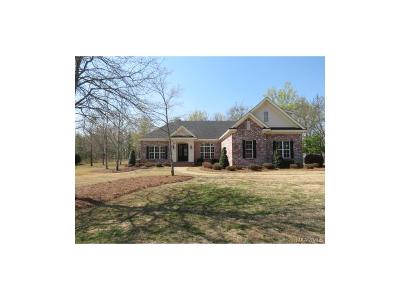 Wetumpka Single Family Home For Sale: 3989 Redland Road