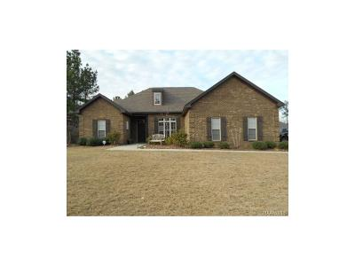Wetumpka Single Family Home For Sale: 535 Forest Mountain Drive
