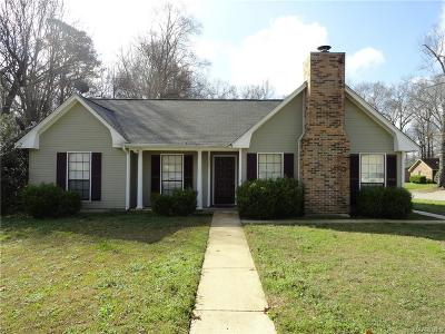 Montgomery Single Family Home For Sale: 3300 Cross Ridge Road