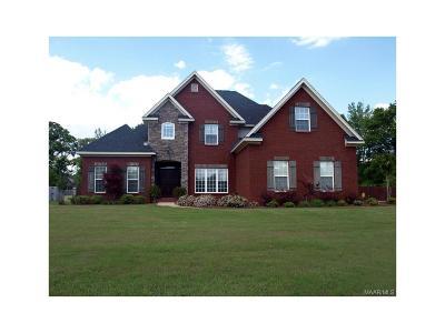 Prattville Single Family Home For Sale: 2705 Wynfrey Drive