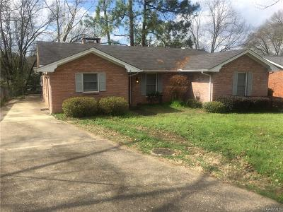 Montgomery Single Family Home For Sale: 3107 Willow Lane Drive