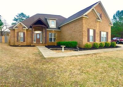 Deatsville AL Single Family Home For Sale: $249,900