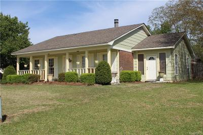 Montgomery AL Single Family Home For Sale: $150,000
