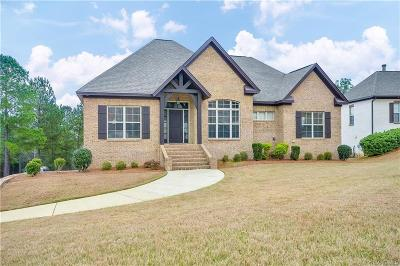 Wetumpka Single Family Home For Sale: 267 Southern Hills Ridge