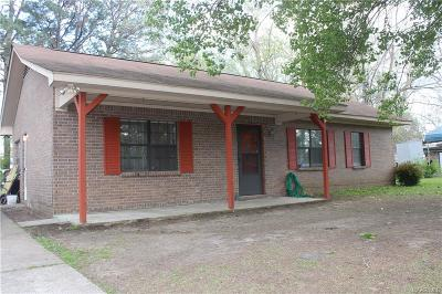 Wetumpka Single Family Home For Sale: 138 2nd Street
