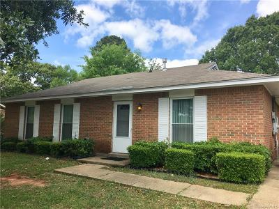 Prattville AL Single Family Home For Sale: $89,900