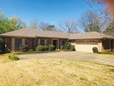 Montgomery AL Single Family Home For Sale: $125,000