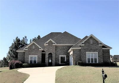 Wetumpka Single Family Home For Sale: 438 Brookwood Drive
