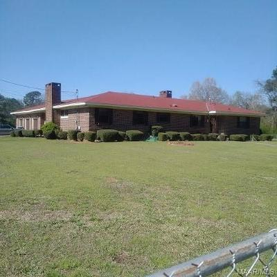 Montgomery Single Family Home For Sale: 3610 Old Selma Road