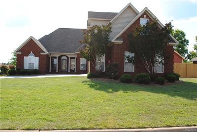 Prattville Single Family Home For Sale: 101 Ashton Oak Court