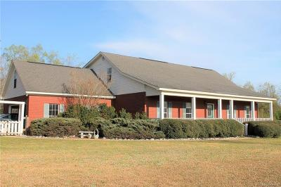 Wetumpka Single Family Home For Sale: 149 Lakeshore Lane