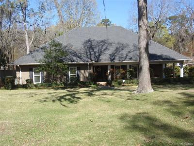 Halcyon Single Family Home For Sale: 1310 Meriwether Road