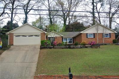 Montgomery Single Family Home For Sale: 1213 Edgeworth Drive