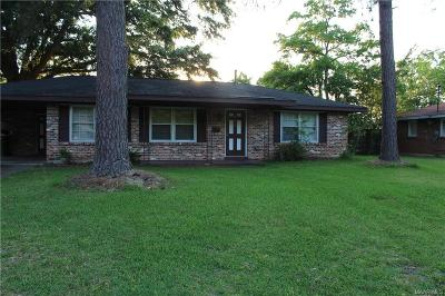 Montgomery AL Single Family Home For Sale: $72,000