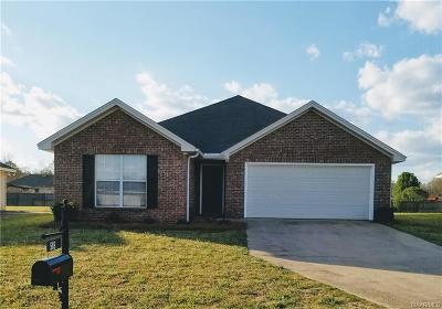 Wetumpka Single Family Home For Sale: 585 McDonald Drive