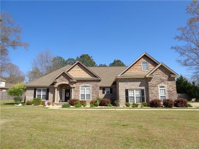 Prattville Single Family Home For Sale: 2509 Wyngate Drive