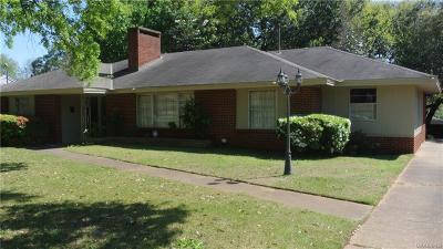 Montgomery AL Single Family Home For Sale: $105,000