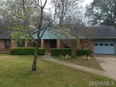Prattville AL Single Family Home For Sale: $148,000